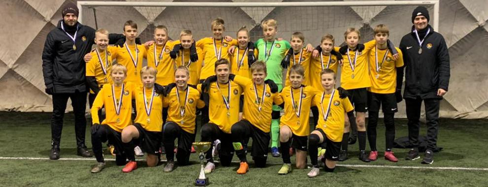 Tarvas U14 Reval Cupi võitja