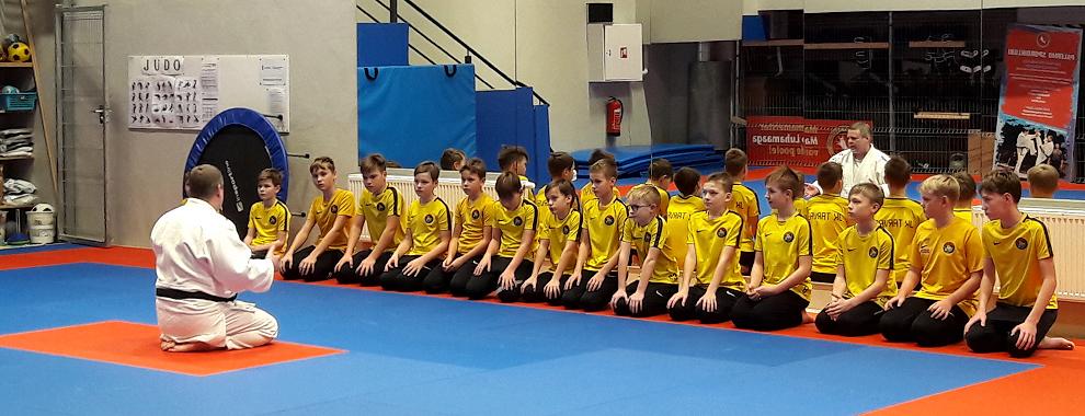 JK Tarvas noored tegid tutvust judoga